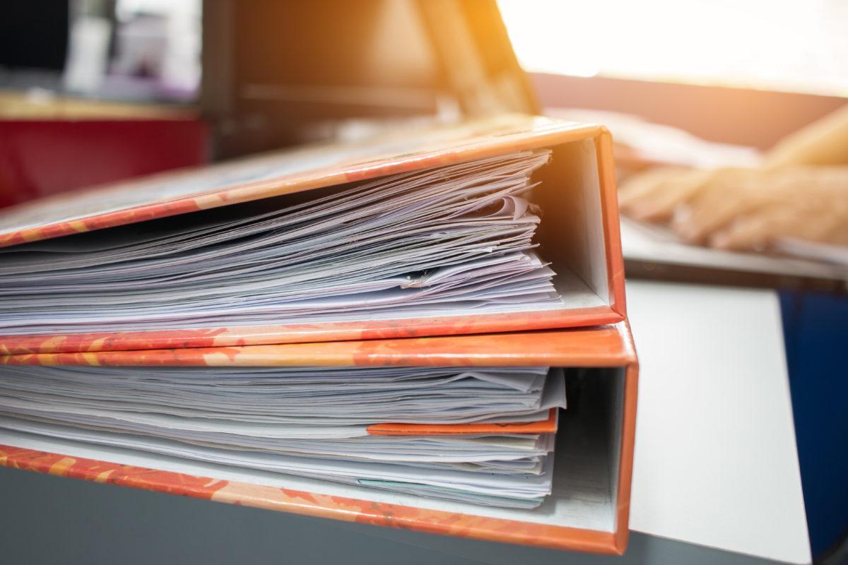 Conference Folder for business presentation