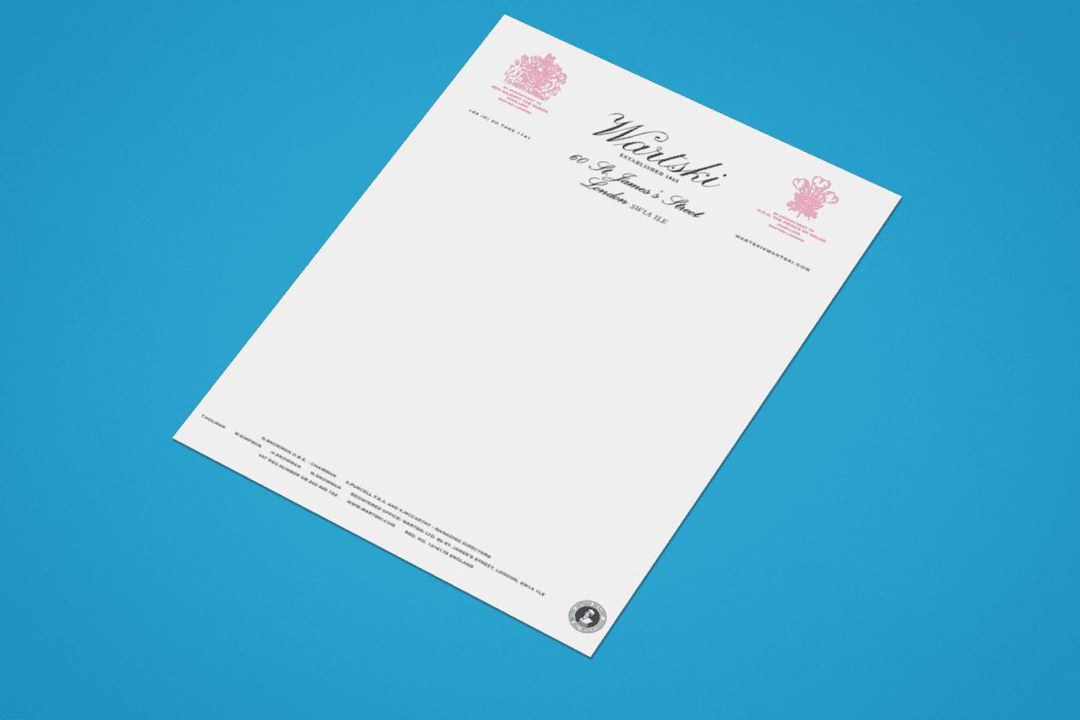Letterhead Printing London SW1