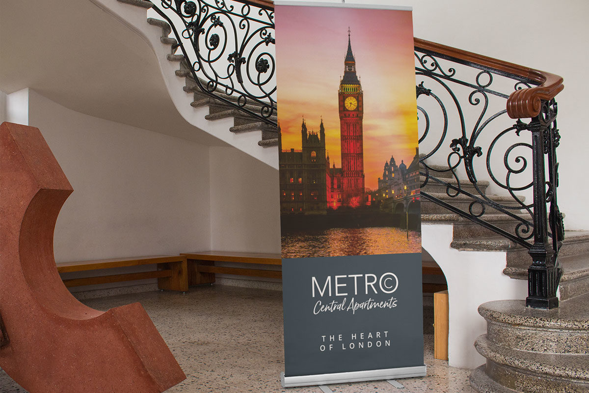 Roller banner printing