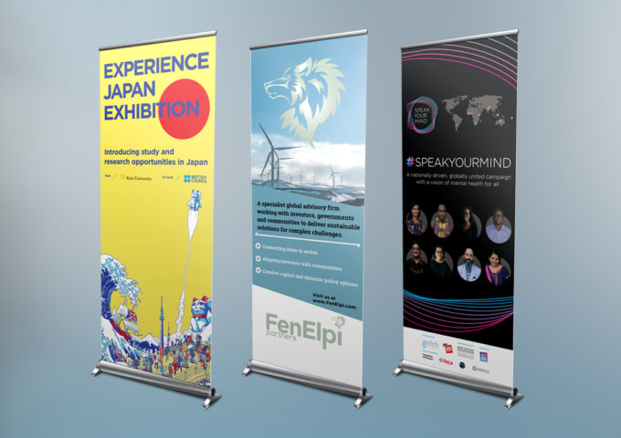 Roller Banners & Exhibition Stands
