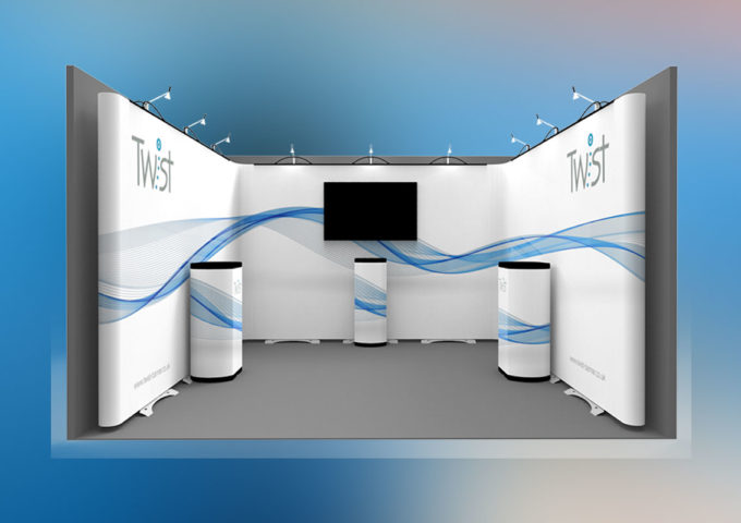 Twist exhibition stands