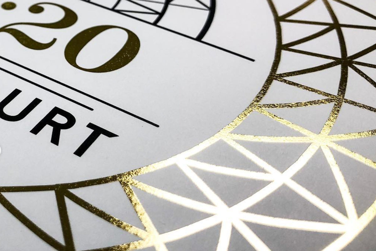 Gold Foiling Printing London