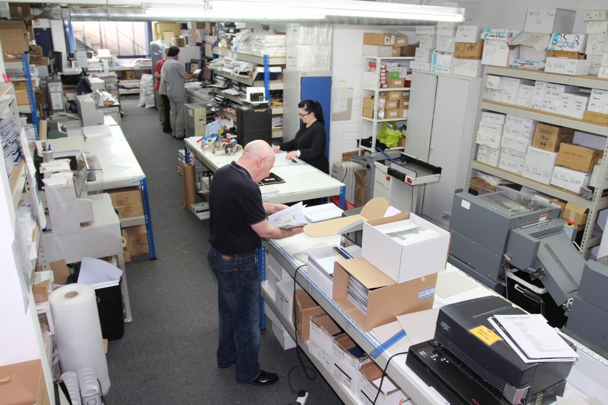 Fast, local, personal printing services in London