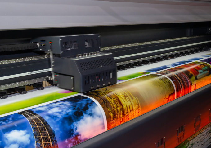 Large format printed items