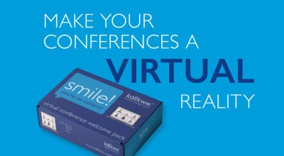 Make your conferences a virtual reality